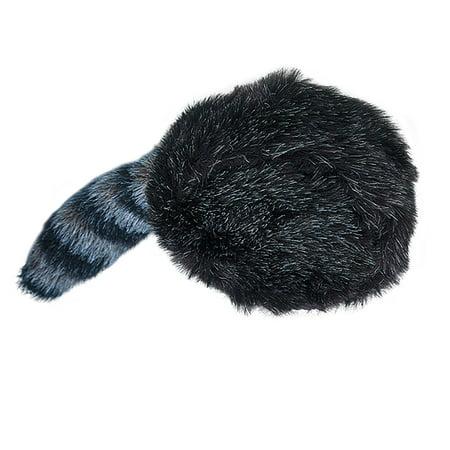 Raccoon Coonskin Cap Hat Davy Crockett Daniel Boone Pioneer Frontier Man Costume](Raccoon Hat)