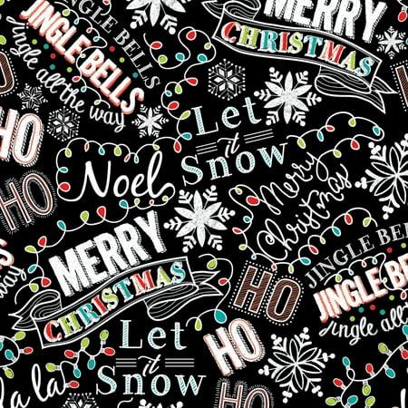 Jillson   Roberts Bulk Gift Wrap  Christmas Chalk  1 4 Ream 208 X 24
