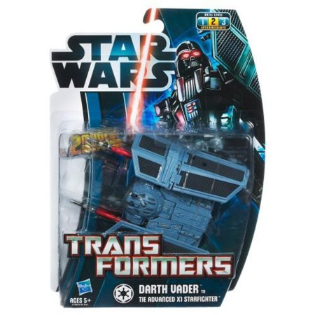 Darth Vader Tie (Star Wars Transformers Darth Vader to Tie Advanced X1)