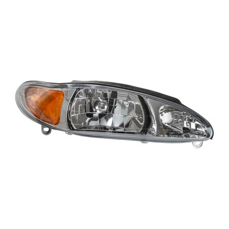 TYC 20-3595-00 Headlight Assembly for Ford Escort, Mercury Tracer FO2503137 Ford Escort Headlamp