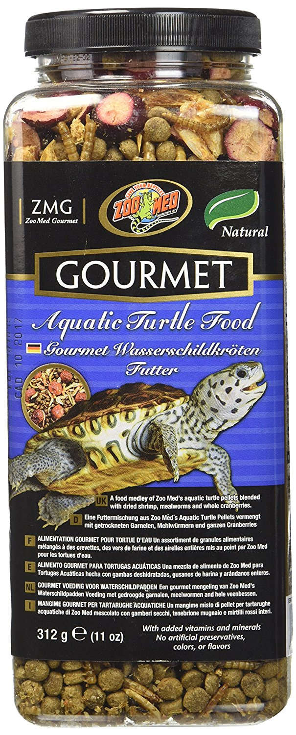 Gourmet Aquatic Turtle Food, No artificial colors or preservatives Ship from US..., By Zoo Med by