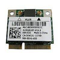 Refurbished Dell CN-0KVCX1 Half Mini Card for Studio 1558 - PCI-e - Wi-Fi - Wireless