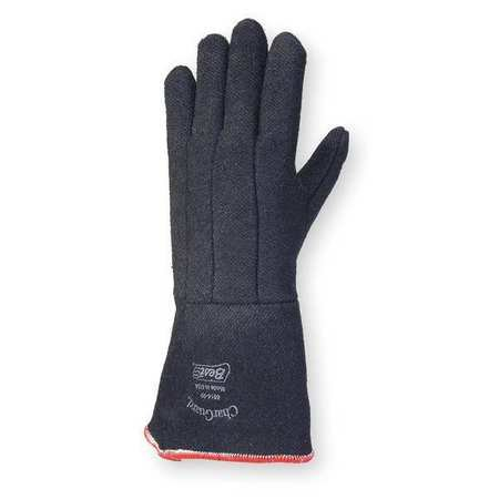 SHOWA BEST 8814-09 Heat Resistant Gloves,Black,