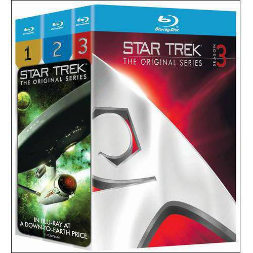 Star Trek: The Original Series: Three Season Pack (Blu-ray) (Full Frame)