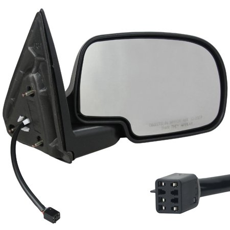 NEW RIGHT PASSENGER DOOR MIRROR FITS CHEVROLET 2002-2006 SUBURBAN 1500 2500 GM1321250 GM1321251