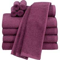 Deals on Mainstays Value Terry Cotton Bath Towel Set 10 Piece Set