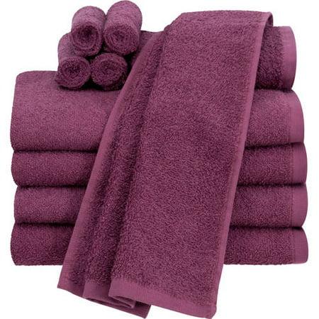 Walmart: Mainstays Value Terry Cotton Bath Towel Set - 10 Piece Set Only $13.99