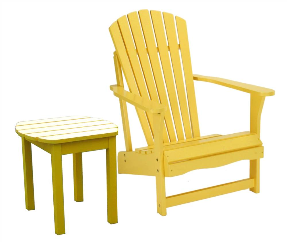 2 Pc Adirondack Chair & Table Set by Whitewood Industries