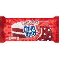 Nabisco Chips Ahoy! Red Velvet Filled Soft Cookies, 9.6 Oz.