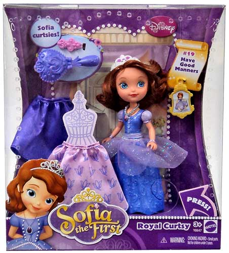 Sofia the First Royal Curtsy Sofia Doll