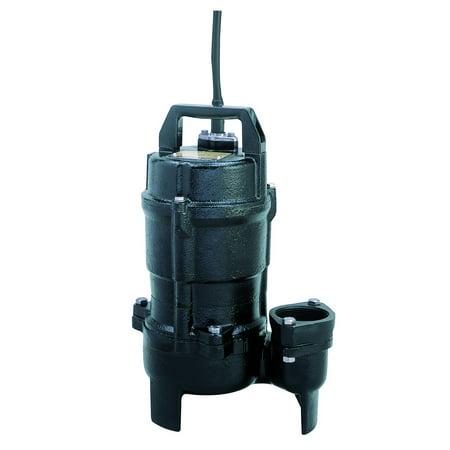 Tsurumi 50Utz2 4S 2 Inch 1 2 Hp 1 Phase Semi Vortex Auto Submersible Sewage Pump