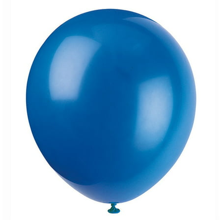 Latex Balloons, Royal Blue, 12in, 72ct - Big Blue Balloon
