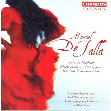 M  De Falla   Manuel De Falla  Love The Magician  Nights In The Gardens Of Spain  Interlude   Spanish Dance  Cd
