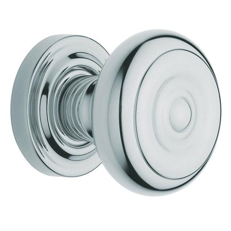 Polished Chrome Estate Knobs without Rosettes