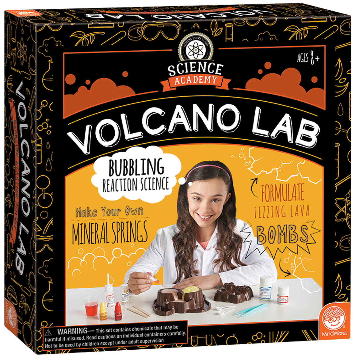 Science Academy Volcano Lab