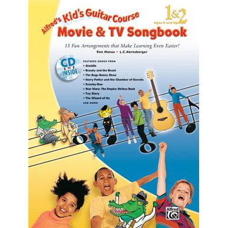 Alfred's Kid's Guitar Course Movie and TV Songbook 1 & 2 ()