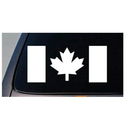 CANADIAN MAPLE LEAF FLAG canada country truck car window laptop vinyl decal 6