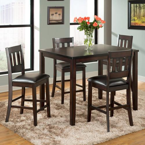 Vilo Home Inc. Americano 5 Piece Pub Table Set & Vilo Home Inc. Americano 5 Piece Pub Table Set - Walmart.com