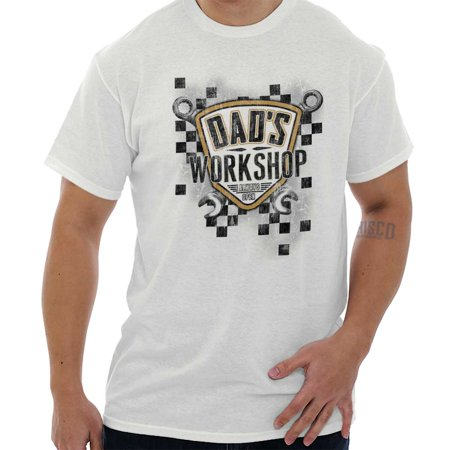 Dads Workshop (Dads Workshop Cool Dad Fathers Day Tools T Shirt Tee)