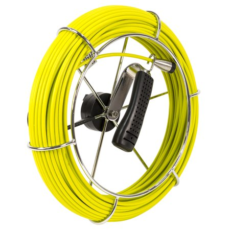Video Snake SWJ-3188D-P3-40 40-Meter 130-Foot Inspection Camera System