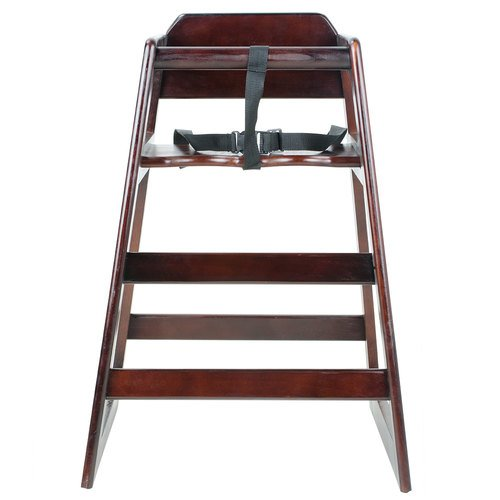 High Chairs - Walnut Finish (K.D.)