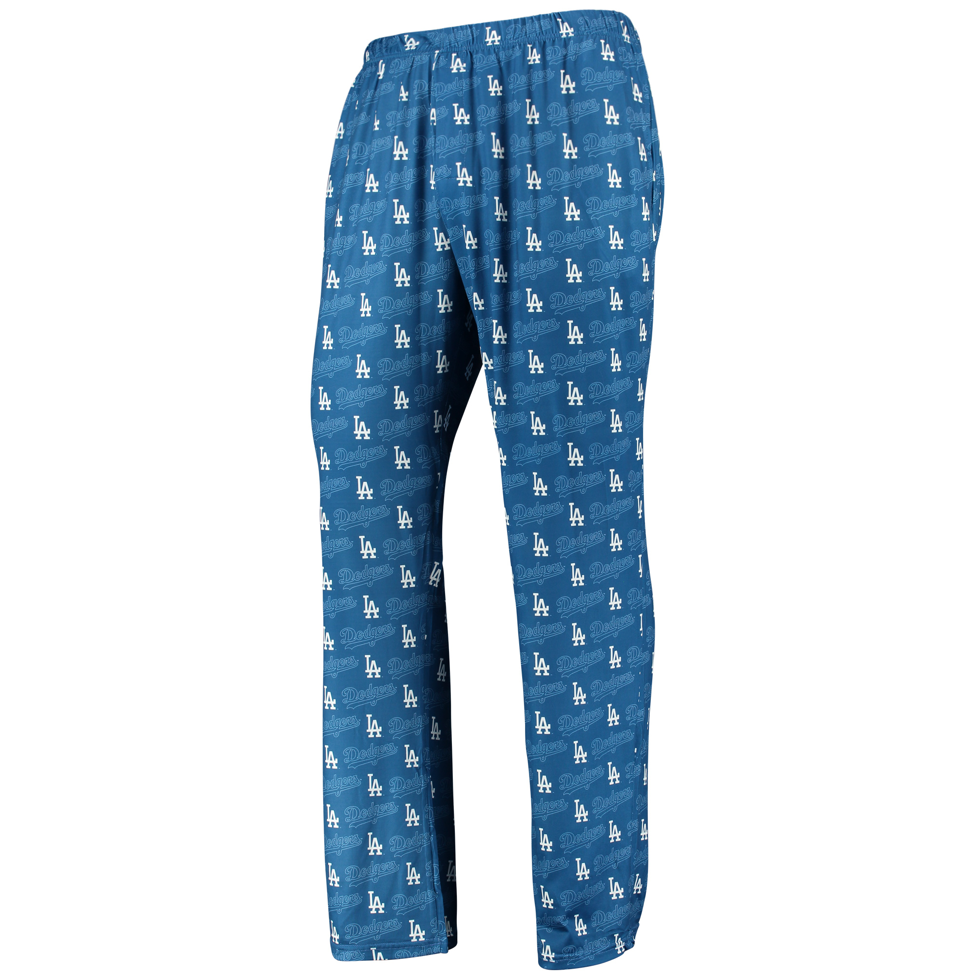 Los Angeles Dodgers Holiday Polyester Print Pants - Royal