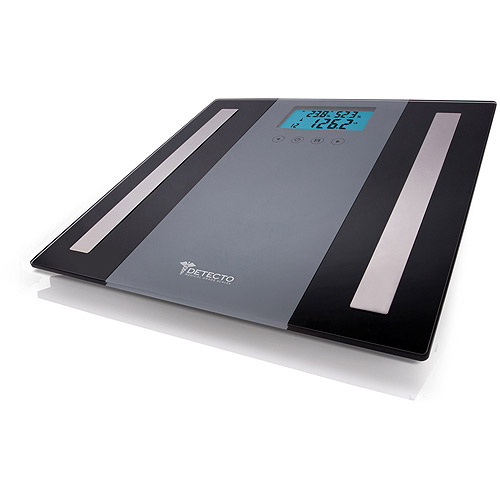 detecto glass lcd digital 5 in 1 body composition scale - Detecto Scales