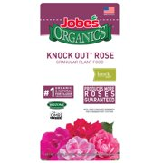 Jobes Organics Knock Out Rose Granular Plant Food, 4lbs,3-4-3