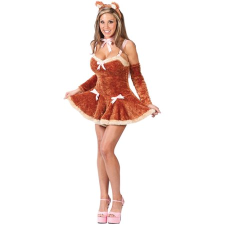Touch Me Teddy Adult Halloween Costume - Halloween Restaurants Near Me