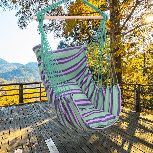 Zimtown Swing Hammock Chair Seat Indoor Outdoor Garden ...