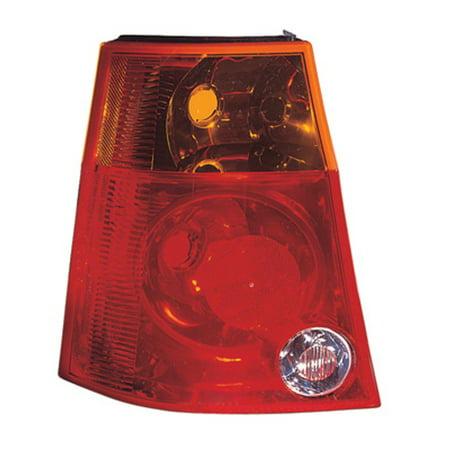 2004-2008 Chrysler Pacifica Passenger Side Tail Light Lens And Housing - Value Line ® - CH2801171V - image 1 de 1