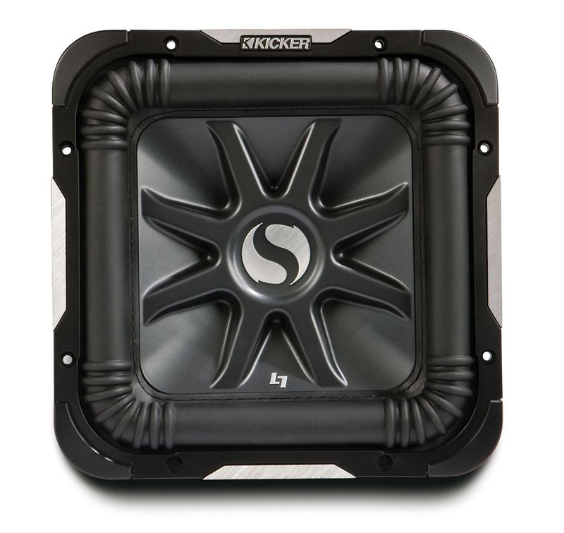 "Kicker Refurbished 11S12L7D2 Car Audio Solobaric 12"" Subwoofer Dual 2 Ohm 1400W"