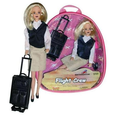 Daron Southwest Airlines Flight Attendant (Airlines Flight Attendant Doll)