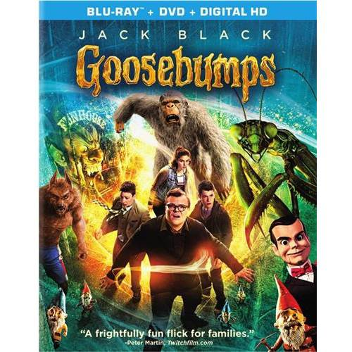 Goosebumps (Blu-ray + DVD + Digital HD) (With INSTAWATCH) (Widescreen)