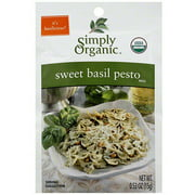 Simply Organic Sweet Basil Pesto Mix, 0.53 oz (Pack of 12)