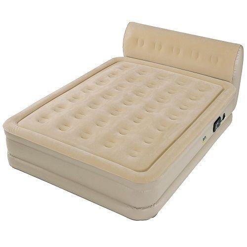 Serta Perfect Sleeper Queen Air Bed With Headboard Mattress Qn