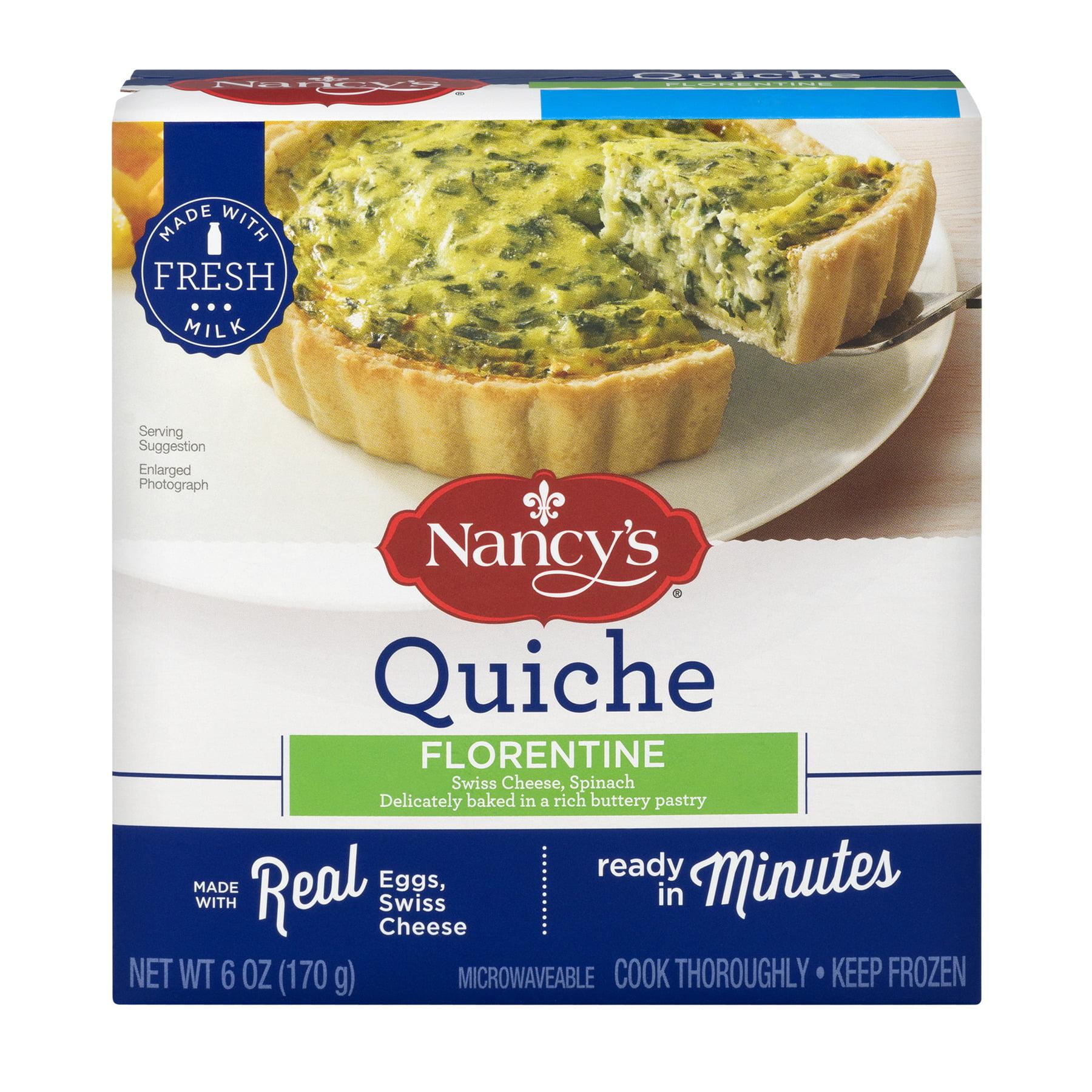 Nancy's® Quiche Florentine 6 oz. Box