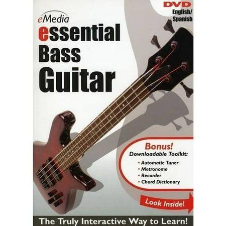 eMedia Essential Bass Guitar DVD