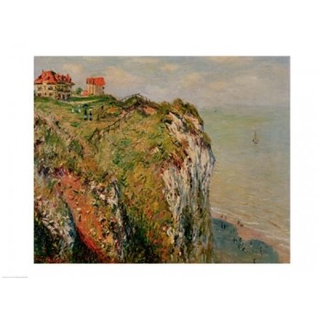 Cliff at Dieppe 1882 Poster Print by Claude Monet - 36 x 24 in. - Large - image 1 of 1