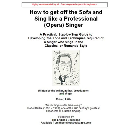 How to get off the Sofa and Sing like a Professional (Opera) Singer - eBook - Pentatonix Sing Off Halloween