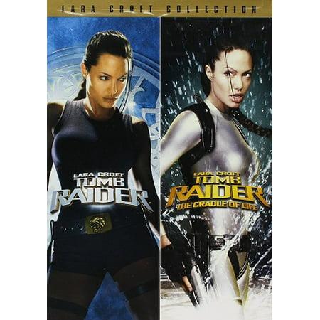Paramount Home Vid Lara Croft: Tomb Raider/cradl Dvd Df (Lara With Horse 2 Ep 1 4)