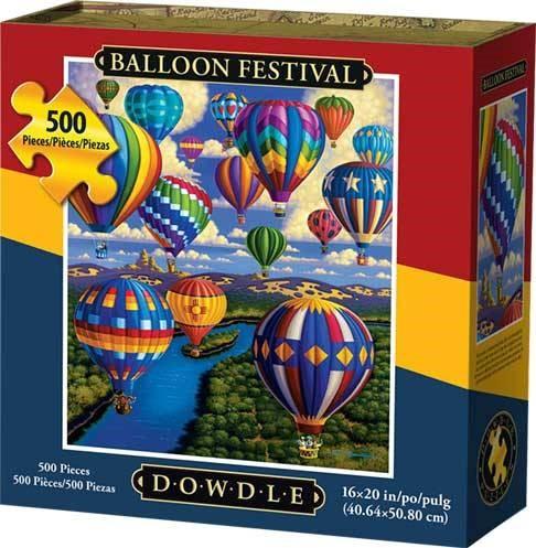 Dowdle Jigsaw Puzzle - Balloon Festival - 500 Piece