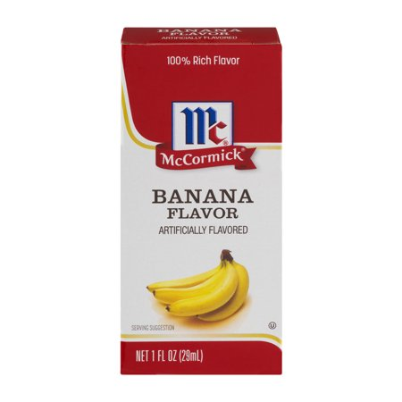 Mccormick Imitation Banana Extract  1 Fl Oz