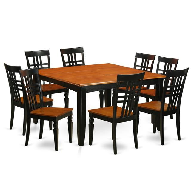 Kitchen Table Set with One Parfait Dining Table & 8 Chairs&#44