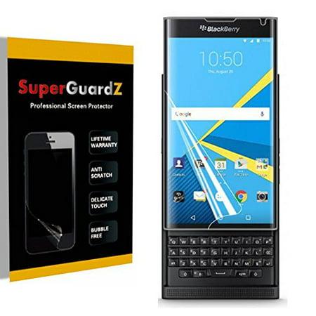 [2-Pack] For BlackBerry Priv - SuperGuardZ [FULL COVER] Screen Protector, HD Clear, Anti-Scratch, -