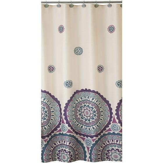 Ethnic Circles Shower Curtain - Walmart.com