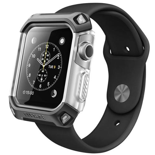 SUPCASE Apple Watch (42mm) Unicorn Beetle Protective Case - Black