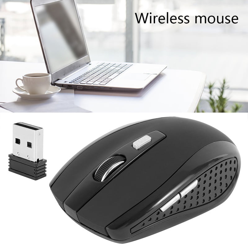 Jan STORE Wireless Computer Mouse Cordless Optical Scroll 2.4GHZ PC Mice with USB Receiver