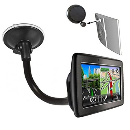 TomTom Gooseneck Windshield Suction Cup Mount w/ Ball Adapter