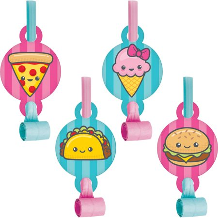 """Club Pack of 48 Vibrant Colors Junk Food Fun Blowouts with MED 8.2"""""""